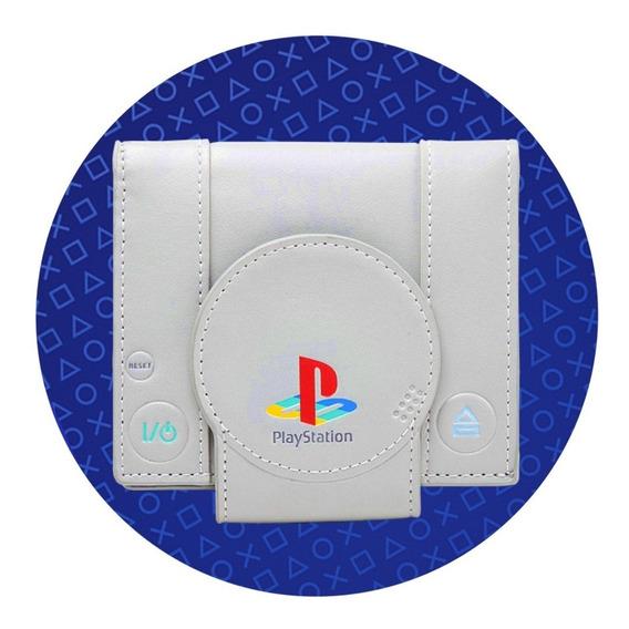 Billetera Playstation Ps1 Psx Retro Monedero Cartera Play