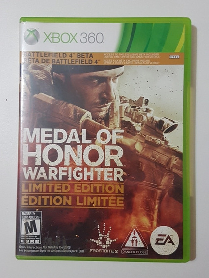Capa Medal Of Honor Warfighter Original Para Xbox 360