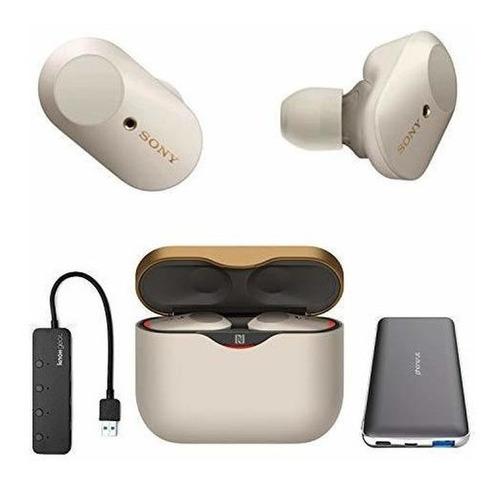 Sony Wf-1000xm3 True Wireless Noise-canceling Earbud Headpho