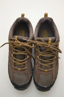 Zapatillas Hombre Columbia Marrón Y Negro