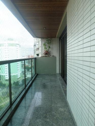 Imagem 1 de 30 de Apartamento Com 4 Dormitórios, 298 M² - Venda Por R$ 1.700.000,00 Ou Aluguel Por R$ 6.000,00/mês - Vila Bastos - Santo André/sp - Ap2427