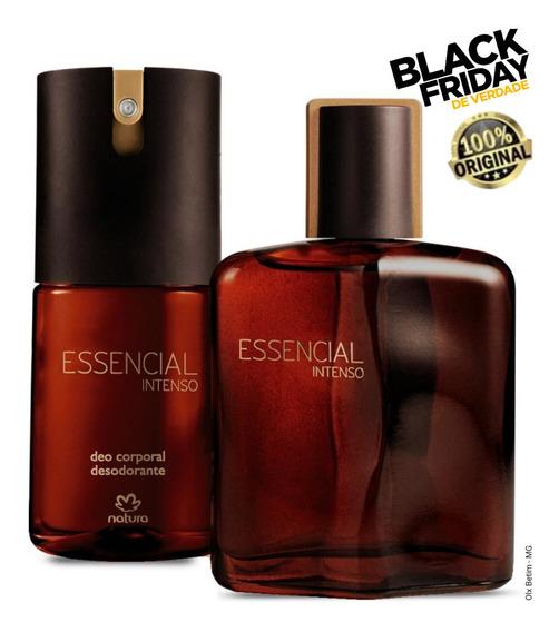 Queimao Combo Perfume Essencial Intenso 100ml + Brinde