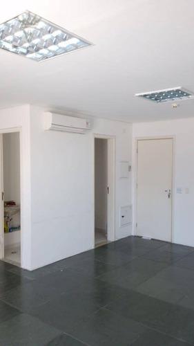 Sala Comercial, 40 M² - Venda Por R$ 560.000 Ou Aluguel Por R$ 1.200/mês - Brooklin Paulista - São Paulo/sp - Sa0074