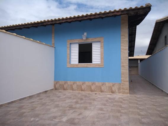 Bela Casa A Venda Em Mongaguá!! Ref:6563