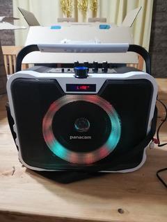 Parlante Panacom Sp 3080 Bluetooth Karaoke Ctrol Fm Usb T70