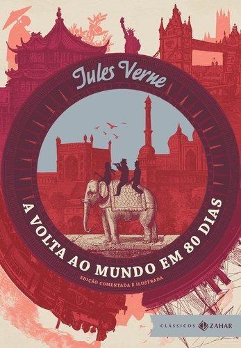 A Volta Ao Mundo Em 80 Dias Capa Dura Zahar Livro Jule Verne