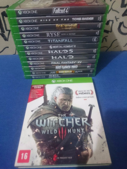 The Witcher 3 Wild Hunt Completo Xbox One Midia Fisica