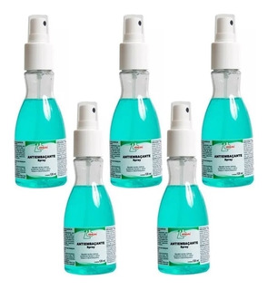 Kit 5 Limpa Vidro Anti Embaçante Para Óculos Spray 120 Ml