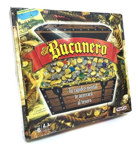 Juego De Mesa El Bucanero Original Toyco