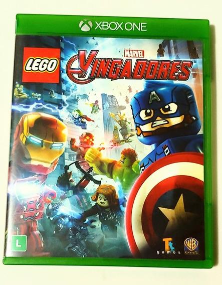 Lego Vingadores Xbox One Mídia Física Português