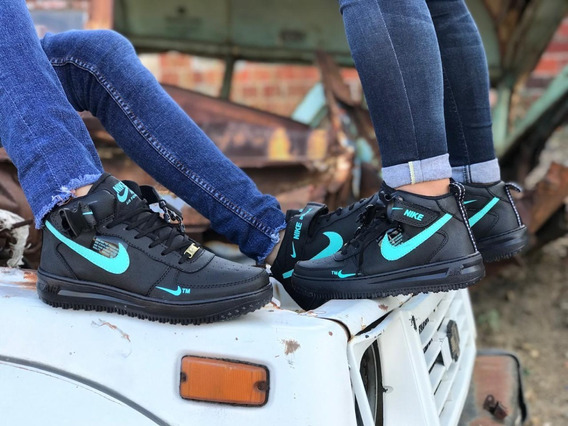 Tenis Bota Deportiva Force One Zapato Hombre Mujer