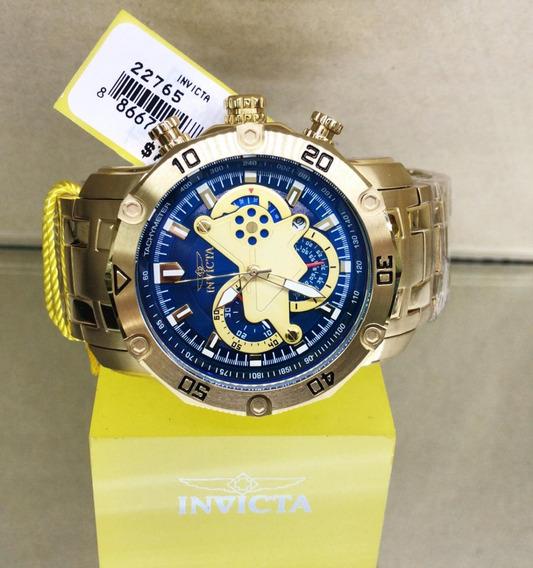 Relógio Invicta Pro Diver 22765 Ouro 18k Masculino Promoção