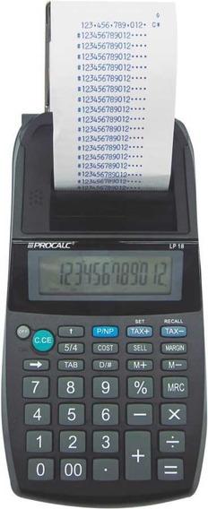 Calculadora C/bobina Lp18 Procalc