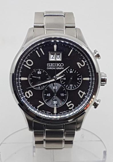 Seiko Relógio Cronografo Genuíno Movement Quartz Srp 153 B1