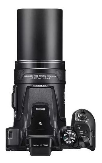 Câmera Digital Nikon Coolpix P900 - Seminova Sem Detalhes