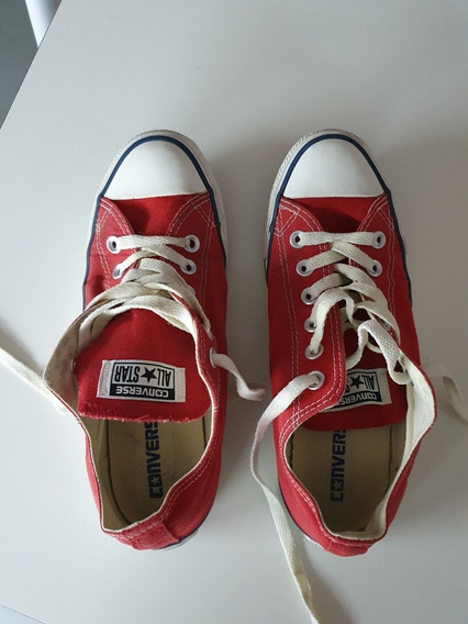 Zapatillas Converse All Star 135984b Rojo Talle 38 Eur