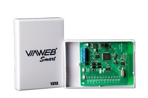 Módulo Receptor Smart 1212 Viaweb Central De Alarme