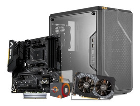 Computadora Pc Gamer Rtx 2060 6gb Core I5 1tb 8gb 80+ Tuf