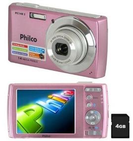 Câmera Digital Philco Pc14 Pc14pr2 C/ 14mp Vitrine