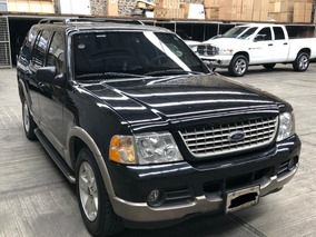 Ford Explorer 4.6 Eddie Bauer V8 4x2 Mt, Blindaje Nivel Iii