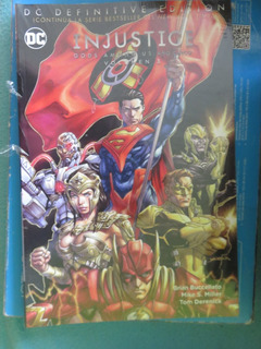 Comic Dc Definitive Edition: Injustice: Gods Among Us Año 5