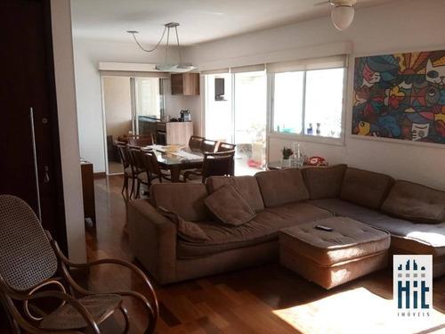 Apartamento À Venda, 145 M² Por R$ 1.755.000,00 - Chácara Klabin - São Paulo/sp - Ap3692