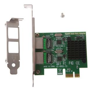 Placa De Rede Intel 2 Eth Gigabit Ethernet Pc Servidor