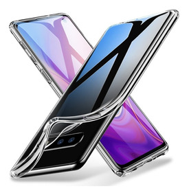 Capa Galaxy S10 S9 S8 Note 9 8 + Película Nano Gel Premium +