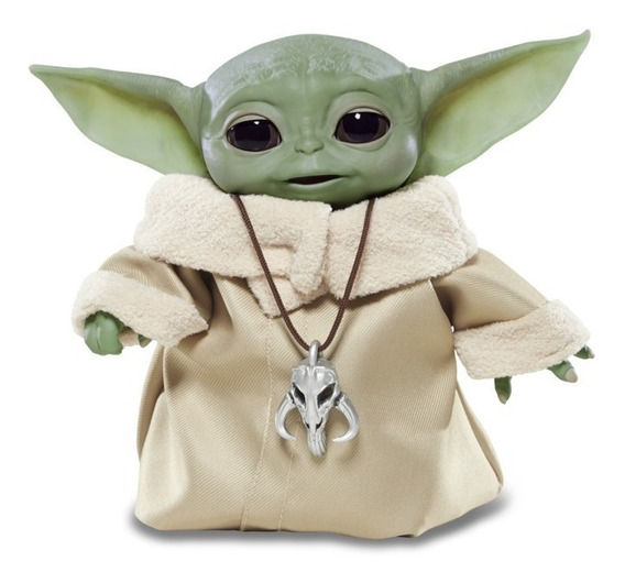 Star Wars Mandalorian The Child Baby Yoda Edição Animatrônic