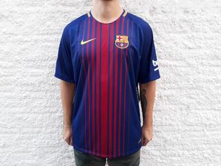 Camisa Futebol Nike Barcelona Ii 2017/2018 Original