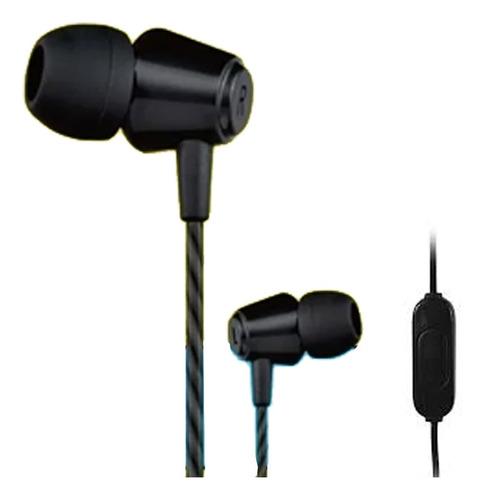 Fone De Ouvido Intra Auricular Com Microfone Jwcom Preto