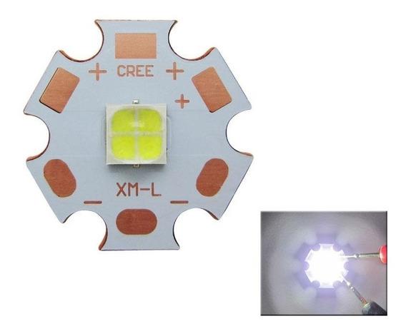 Chip Led Cree 7070 20w 6v Xhp50 T9 6500k Pcb 20mm
