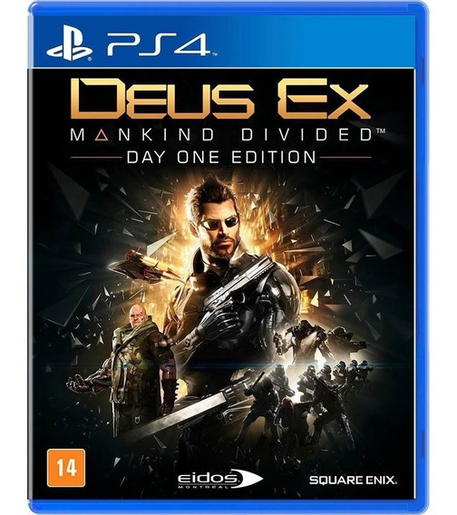 Deus Ex Mankind Divided Ps4 Day One Edition Midia Fisica