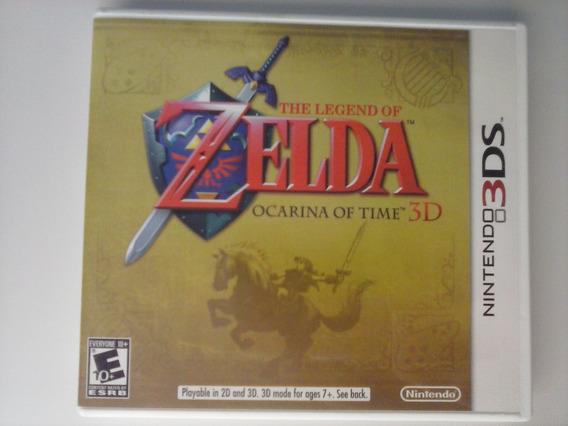 3ds - Zelda: Ocarina Of Time 3d 1ª Ed. - Americano, Completo