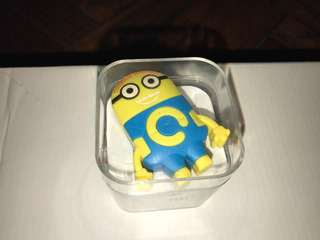 Mp3 Palyer/radio Minions C/cable Usb C/auriculares $200