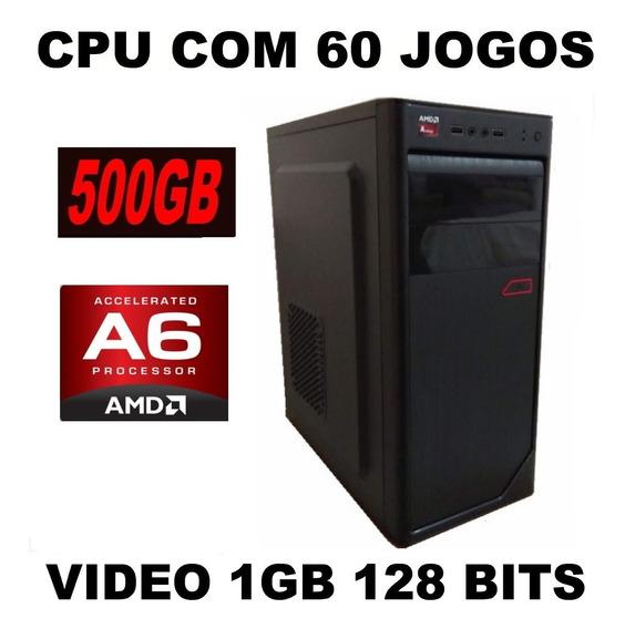 Pc Cpu Gamer Barata + Jogos 3.8 Ghz Corew Photoshop Autocad