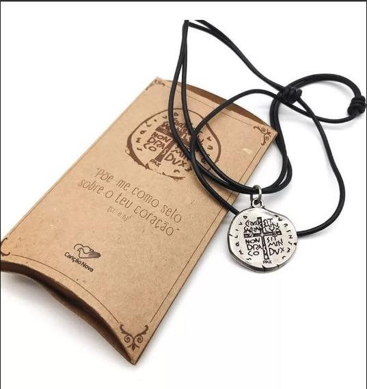 Cordão Medalha Das Duas Cruzes Canção Nova