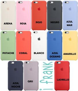 Funda Silicon iPhone Xs Colores Funda Case Apple X Full