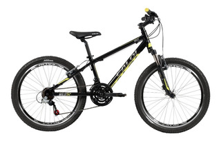 Bicicleta Wild Aro 24 Infanto Juvenil Alum 21v Pto - Caloi