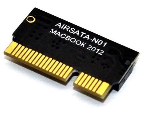 Imagen 1 de 3 de Adaptador Corto Ssd M.2 Sata Para Macbook Air 2012 + P5 T5