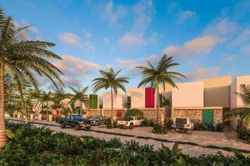 Townhouses En Zona De Playa