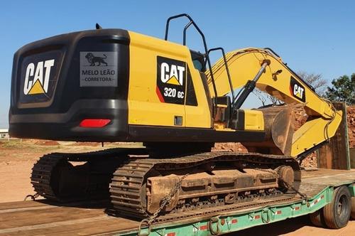 Escavadeira Caterpillar 320gc - Ano 2018 - Apenas 3.358 Hrs