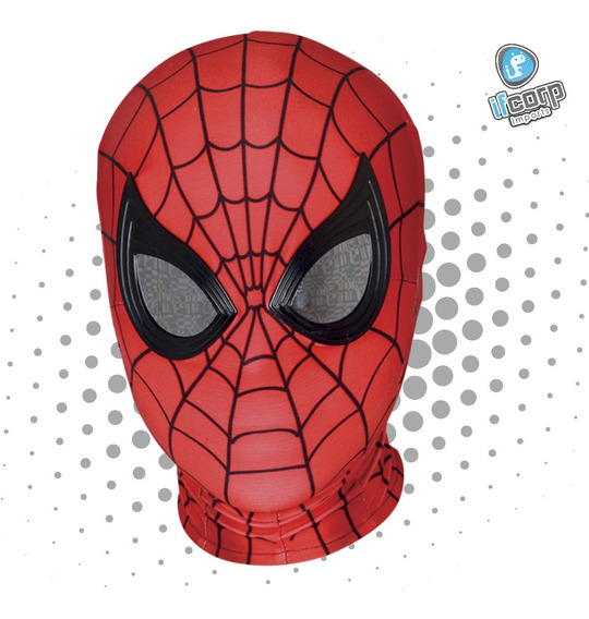 Máscara Cosplay Licra Spiderman Far From Home Adulto Kid