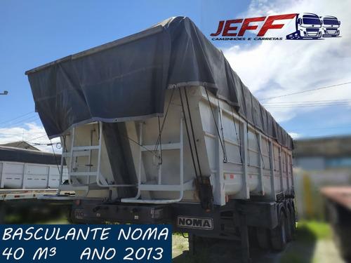 Carreta Caçamba Basculante Noma 40m³ 2013