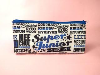 Cartuchera Triangular De Super Junior Suju Kpop Siwon Dongha