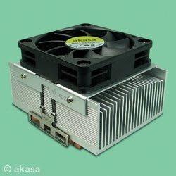 Ak-795 Lote 10 Un Akasa Cobre Fan Cooler Intel Amd 5000rpm