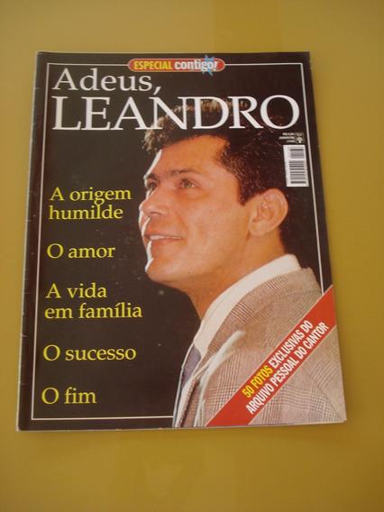 Revista Especial 1188 Contigo Adeus Leandro Ano 1998 H976