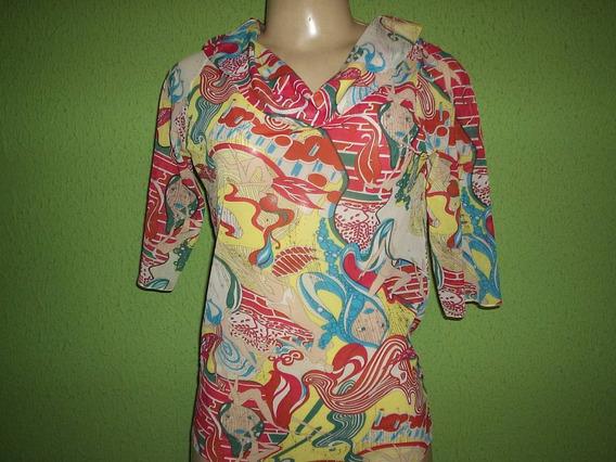 Blusa Estampa Quadrinhos Patachow Tamanho M