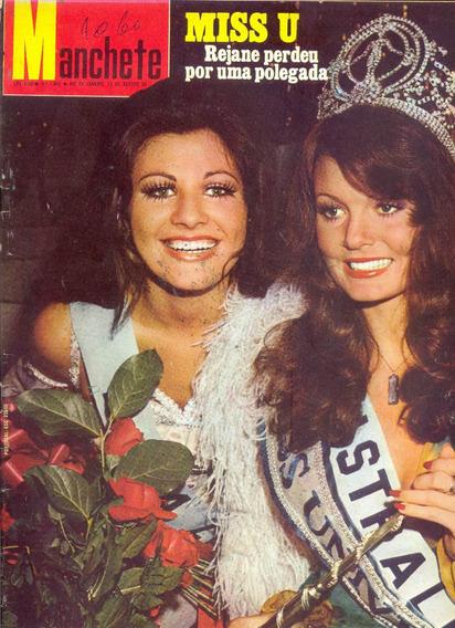 Manchete Nº 1060 - 12.08.72 - Miss Universo/ Vale Do Paraíba