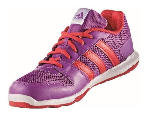 Tenis adidas Niña Violeta Essetianl Star 2 Aq3659